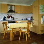Küchenecke im Wohnraum